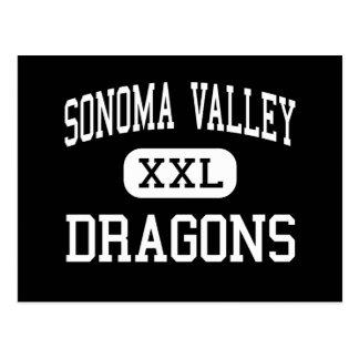 Sonoma Valley - Dragons - High - Sonoma California Postcard