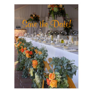 Sonoma winery, Save the Date! Postcard