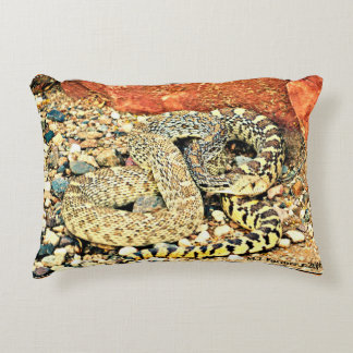 Sonoran Bull Snake Accent Pillow