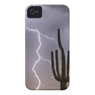 Sonoran Desert Monsoon Storming iPhone 4 Cases