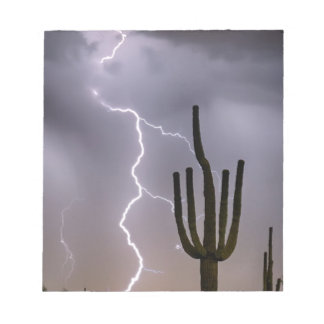 Sonoran Desert Monsoon Storming Notepad