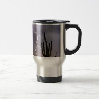 Sonoran Desert Monsoon Storming Travel Mug