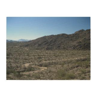 Sonoran Desert Wood Print