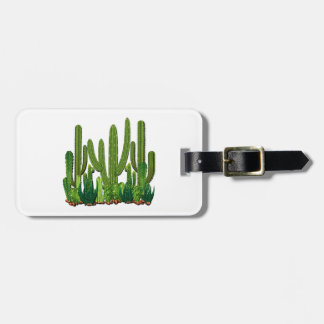 Sonoran Habitat Luggage Tag