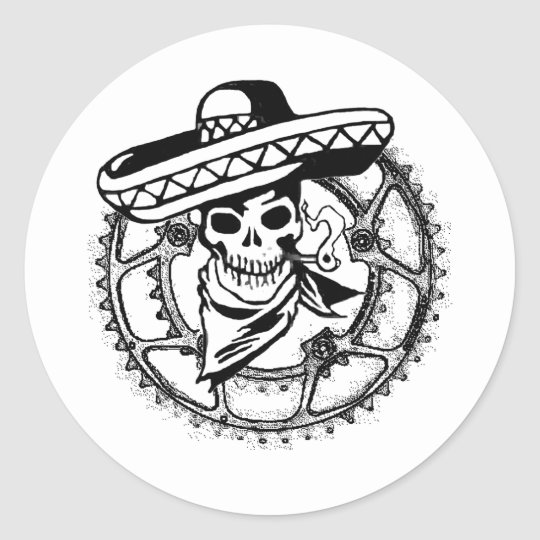 Sonoran Pirates Classic Round Sticker