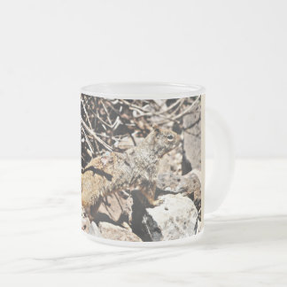 Sonoran Squirrel Frosted Mug