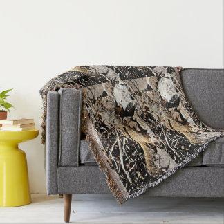 Sonoran Squirrel Throw Blanket