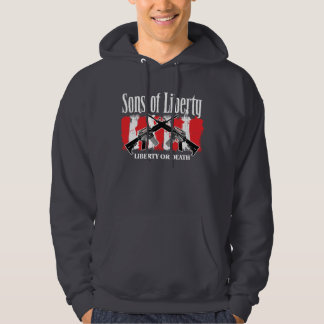 Sons of Liberty LIBERTY OR DEATH one-sided hoodie
