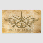 Sons of Liberty Rectangular Stickers