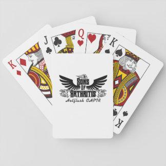 Sons With Arthritis - Arthritis Awareness Playing Cards
