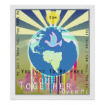 "Sony ATV ""Come Together"" Peace Poster"