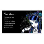 """""""Sonya"""" Tribal Fusion Belly Dancer Business Cards"""