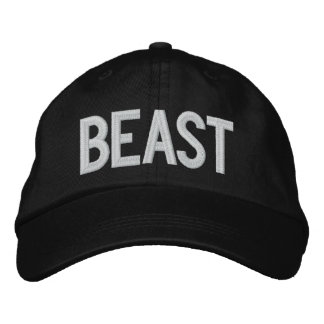Sooled Beast Embroidered Hat