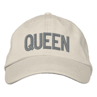 Sooled Queen Embroidered Hat