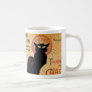 """""""Soon and the Black Cat Tour by Rodolphe Salis"""" Coffee Mug"""