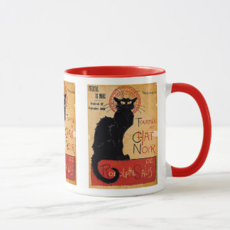"""Soon and the Black Cat Tour by Rodolphe Salis"" Mug"