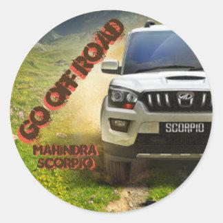 Soon Mahindra Scorpio Sticker