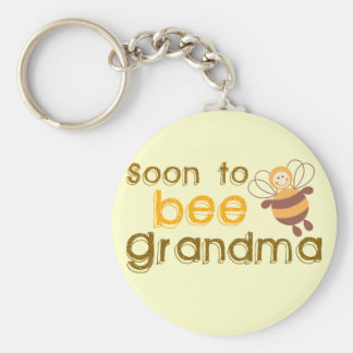 Soon to be Grandma Keychain