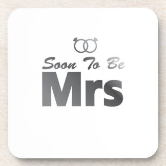 Soon To Be Mrs Bachelor Party Bride Team wedding Coaster