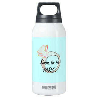 """""""soon to be MRS."""" Insulated Water Bottle"""