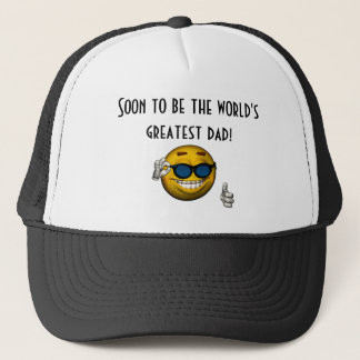 """Soon to Be the World's Greatest Dad!"" Trucker Hat"