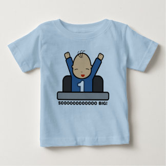 Soooo Big! (Boy Version 1) Baby T-Shirt