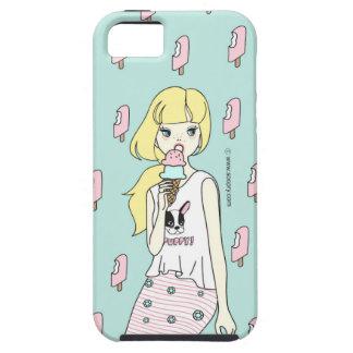 Soopry eating icecream iPhone 5 covers