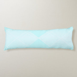 Soothing Breeze  blue Diamond Body Pillow