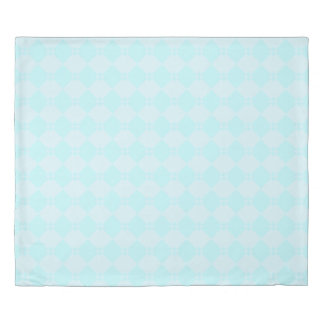 Soothing Breeze  blue Diamond Duvet Cover