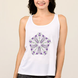 *~*Soothing Healing Energy Mandala Tank Top