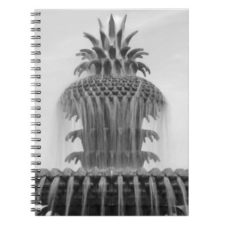 Soothing Pineapple Spiral Notebook