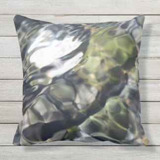 Soothing Water Outdoor Pillow