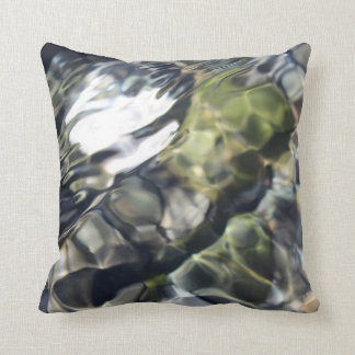 Soothing Water Throw Pillow