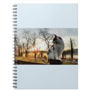 'Soots Inclinations of Spring' Fine Art Notebook