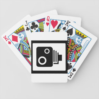Sopeed Camera Bicycle Playing Cards
