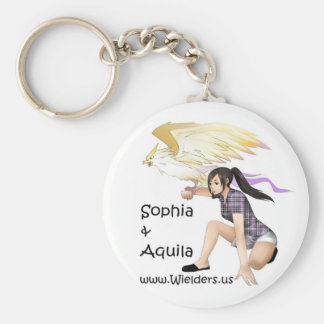 Sophia and Aquila - from Wielders book series Keychain
