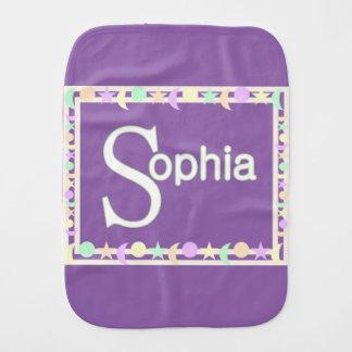 Sophia Burp Cloth