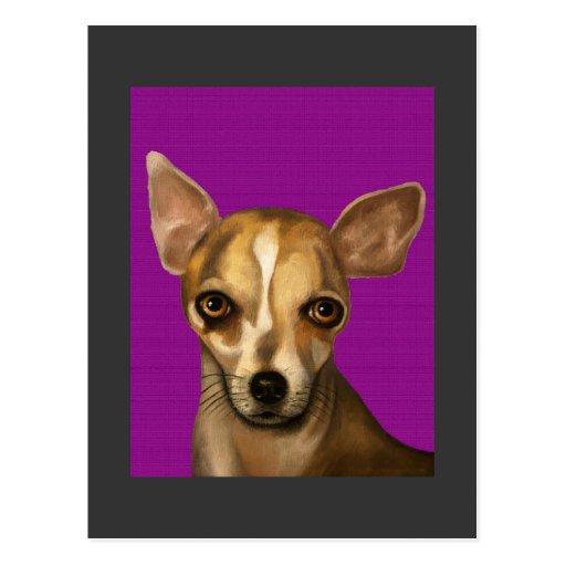 Sophia In Purple Postcards