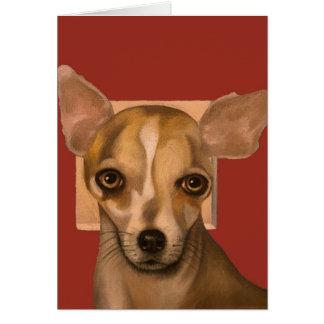 Sophia In Red Greeting Card