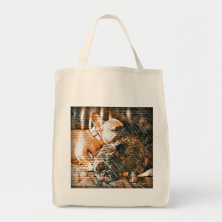Sophie and Penny the french bulldogs Tote Bag