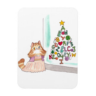 Sophie Christmas magnet