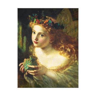 Sophie Gengembre Anderson Fairy Canvas Print