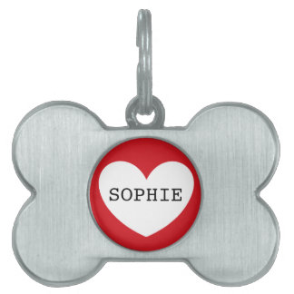 ❤️ SOPHIE pet tag by DAL