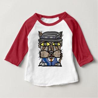 """Sophisticated"" Baby 3/4 Raglan T-Shirt"