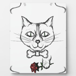 Sophisticated Cat Plaque