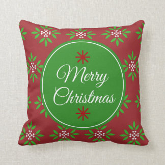 Sophisticated Christmas Pillow