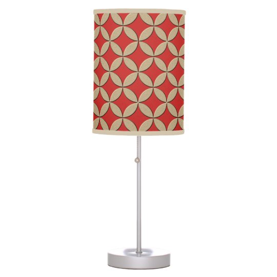 Sophisticated Circles Table Lamps