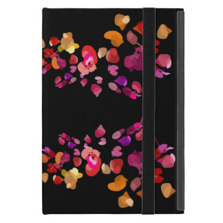 Sophisticated Feminine Fiery Colours Floral Case For iPad Mini
