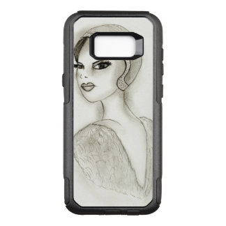 Sophisticated Flapper OtterBox Commuter Samsung Galaxy S8+ Case