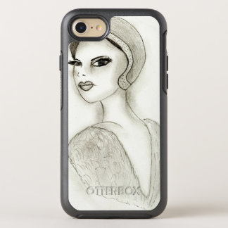 Sophisticated Flapper OtterBox Symmetry iPhone 8/7 Case
